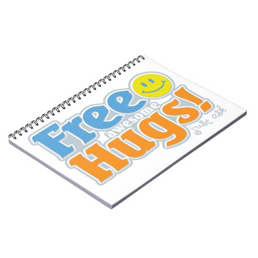 Awesome Free Hugs! Journals