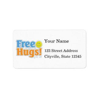Awesome Free Hugs! Address Label