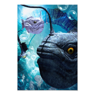 Awesome frogfish card
