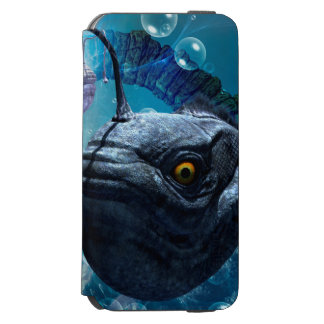 Awesome frogfish iPhone 6/6s wallet case