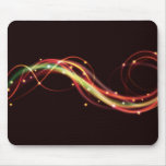 Awesome funky swirling fire mousepad