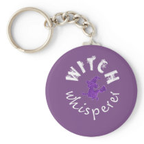 Awesome Funny Witch whisperer Gift design for Keychain
