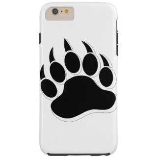 Awesome Gay Bear claw B&W 3D effect Tough iPhone 6 Plus Case
