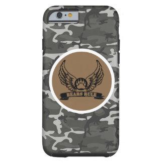 Awesome Gay Bear Pride Bears Rule Wings Urban Camo Tough iPhone 6 Case