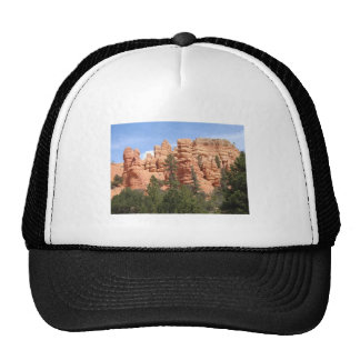 Awesome Geologic Formations at Red Canyon, Utah Mesh Hat