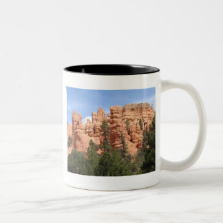 Awesome Geologic Formations at Red Canyon, Utah Two-Tone Coffee Mug