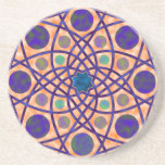 Awesome Geometric Design No. 3 Beverage Coaster