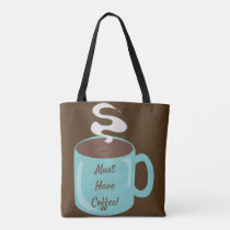 Awesome Giant Coffee Cup Tote Bag