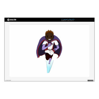"""Awesome Girl 17"""" Laptop Decals"""