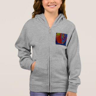 AWESOME GIRL'S ZIP HOODIE