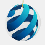 Awesome globe concept design christmas tree ornaments
