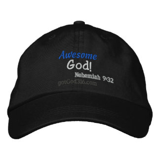 Awesome God gotGod316.com Wool Embroidered Baseball Cap