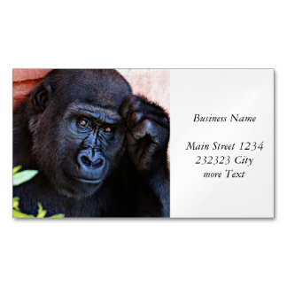 awesome gorilla 1215P Magnetic Business Card