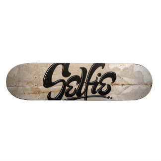 Awesome Graffiti Selfie Street Art Lettering Skateboard Deck