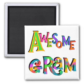 Awesome Gram T-shirts and Gifts Fridge Magnet