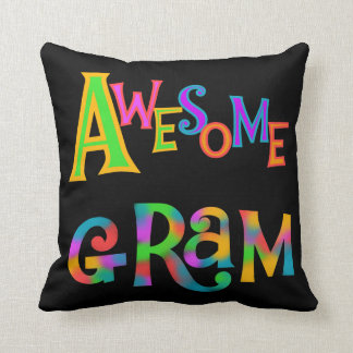 Awesome Gram T-shirts and Gifts Pillow