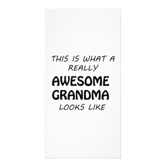 Awesome Grandma Card