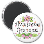 Awesome Grandma T-Shirt Refrigerator Magnet