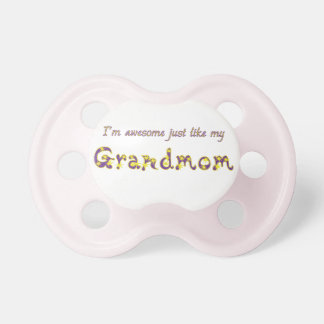 Awesome Grandmom BooginHead Pacifier
