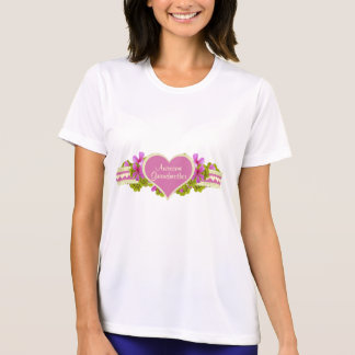 Awesome Grandmother Heart Tee Shirt