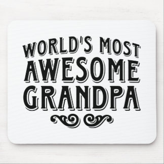 Awesome Grandpa Mouse Pad