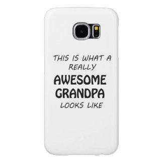 Awesome Grandpa Samsung Galaxy S6 Case