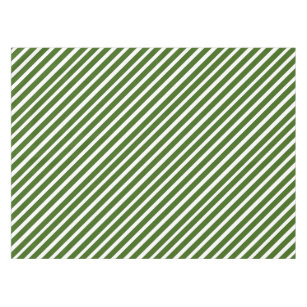 Awesome Green And White Striped Candy Inspired Tablecloth