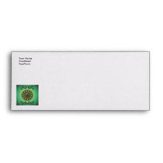 Awesome green diamond envelopes