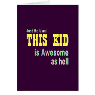 Awesome greeting cards
