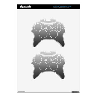 Awesome Grey Ombre Xbox 360 Controller Decal