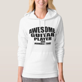 Awesome Guitar Player Hoodie