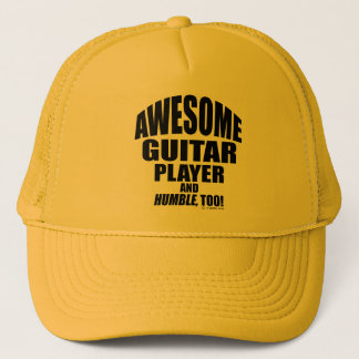 Awesome Guitar Player Trucker Hat