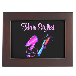AWESOME HAIR STYLIST TEES AND GIFTS MEMORY BOX