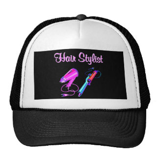 AWESOME HAIR STYLIST TEES AND GIFTS TRUCKER HAT