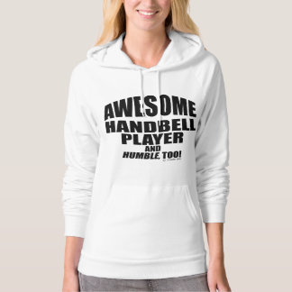 Awesome Handbell Player Hoodie