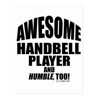 Awesome Handbell Player Post Cards