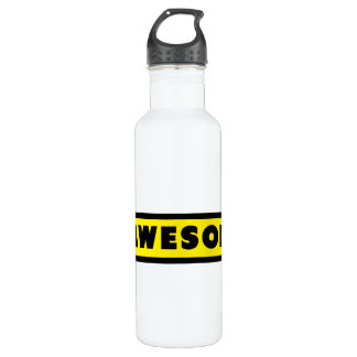 Awesome Hashtag # Water Bottle