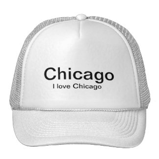 AWESOME HAT,,,,THATS SAY I LOVE CHICAGO TRUCKER HAT