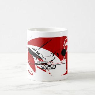 Awesome Helicopter Ninjas classic logo mug