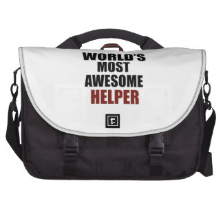 Awesome HELPER designs Laptop Bags