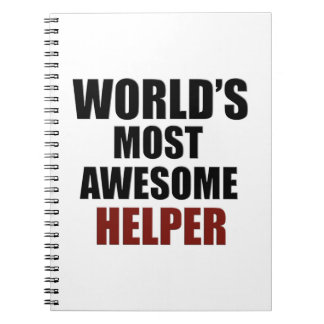 Awesome HELPER designs Notebook