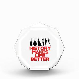 awesome History designs Acrylic Award