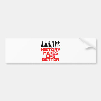 awesome History designs Bumper Sticker