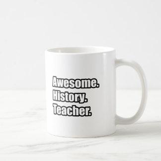 Awesome History Teacher Coffee Mug