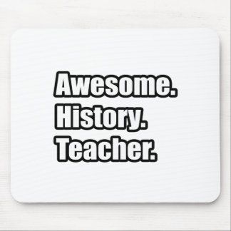 Awesome History Teacher Mouse Mats