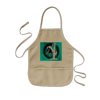 Awesome horse kids' apron