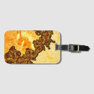 Awesome horse luggage tag