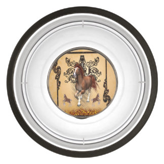 Awesome horse pet bowl