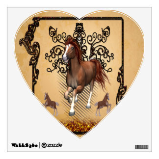 Awesome horse room graphics