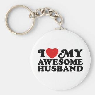 Awesome Husband Key Chain